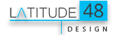 Latitude 48 Design Mobile Retina Logo